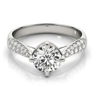 14k Gold 5/8ct TDW Multi-row Diamond Band Engagement Ring (F-G, VS1-VS2)