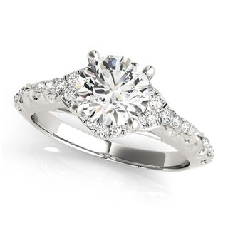 Transcendent Brilliance 14k Gold 3/4ct TDW Diamond Vintage-Style Engagement Ring (G, VS2)