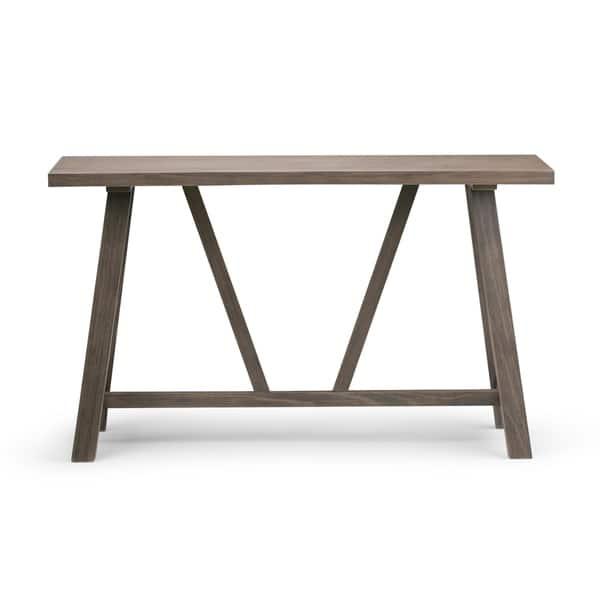 Cool Shop Wyndenhall Stewart Solid Wood 50 Inch Wide Modern Machost Co Dining Chair Design Ideas Machostcouk