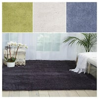 Rug Squared Long Beach Solid Shag Area Rug (5' x 7')