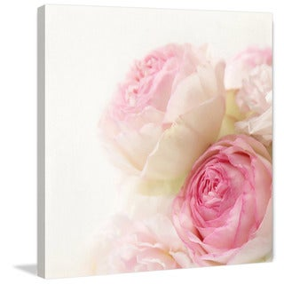 Marmont Hill - 'Roses' by Sylvia Cook Painting Print on Wrapped Canvas