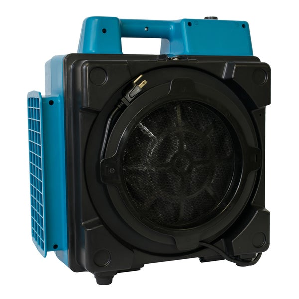 XPOWER X-2380 Pro Clean Eco Filter 3 Stage Filtration Purifier Mini Air Scrubber - Blue