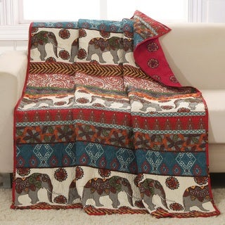 Barefoot Bungalow Kandula Desert Quilted Throw