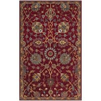 Safavieh Hand-Woven Heritage Red Wool Rug (3' x 5')