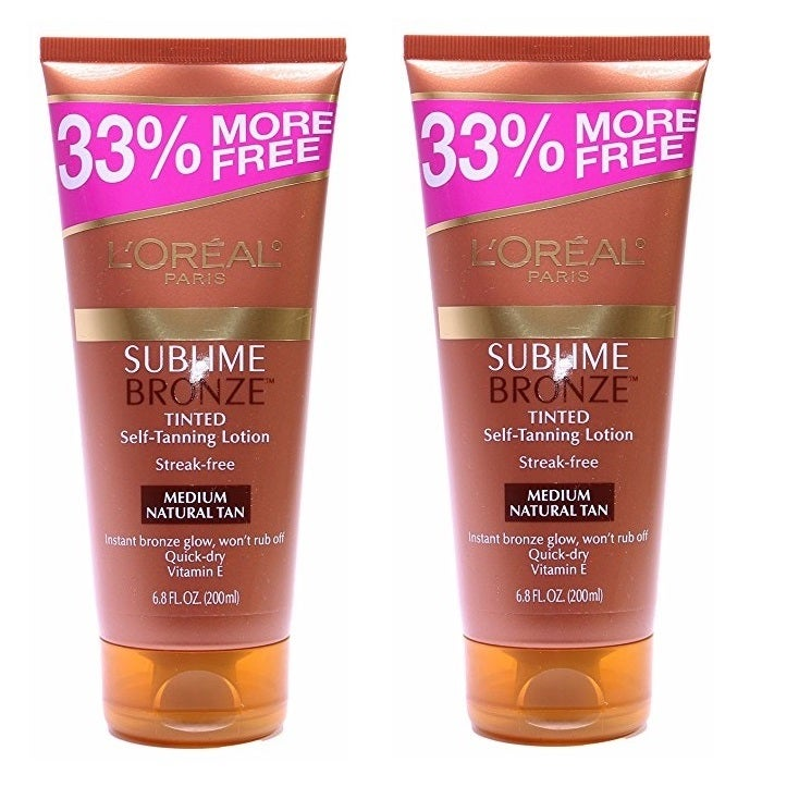 L'Oreal Sublime Bronze Tinted 5-ounce Self-Tanning Lotion...