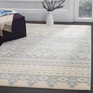 Safavieh Adirondack Southwestern Ivory/ Slate Rug (8' x 10')