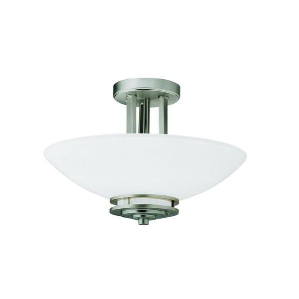 Kichler Lighting Reviews: Shop Kichler Lighting Hendrik Collection 2-light Brushed