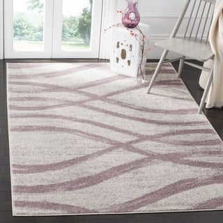 Safavieh Adirondack Modern Cream/ Purple Rug (6' Square)