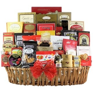 Magnificent Holiday Munchies Gourmet Holiday Christmas Gift Basket