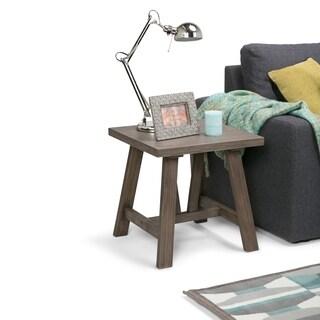 WYNDENHALL Stewart Driftwood Finish End/ Side Table