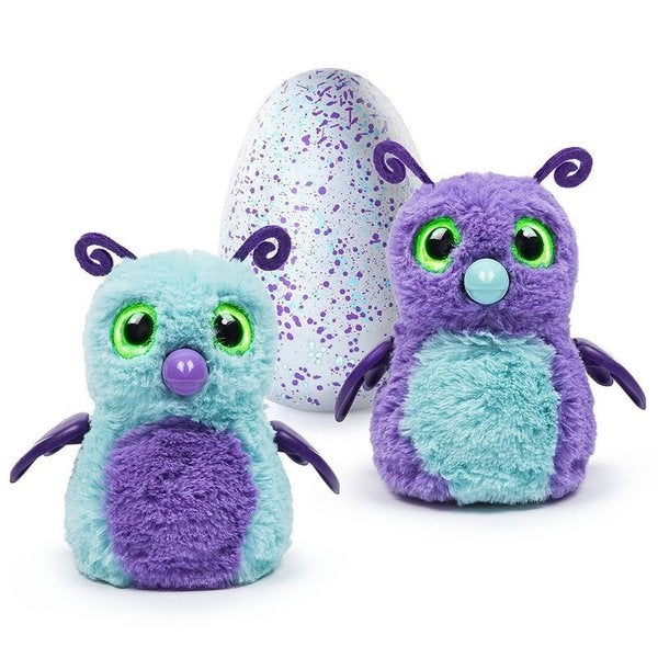 Hatchimals Hatching Egg Burtle by Spin Master - Purple/Teal