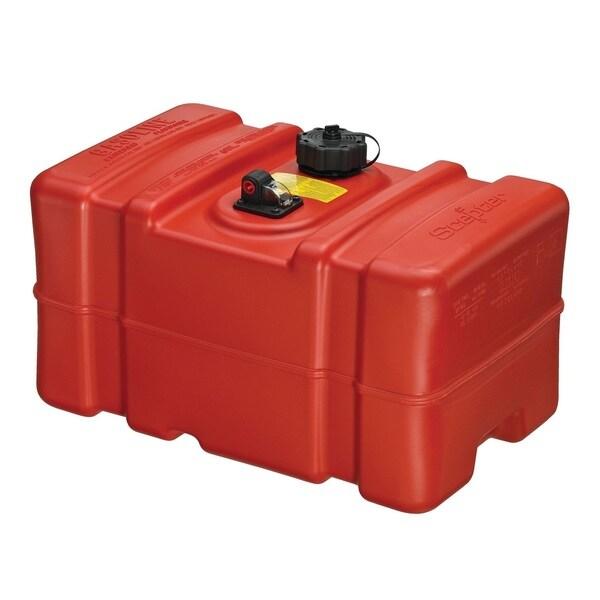 Scepter Red Polyethylene 12-gallon Tall Profile Portable Fuel Tank