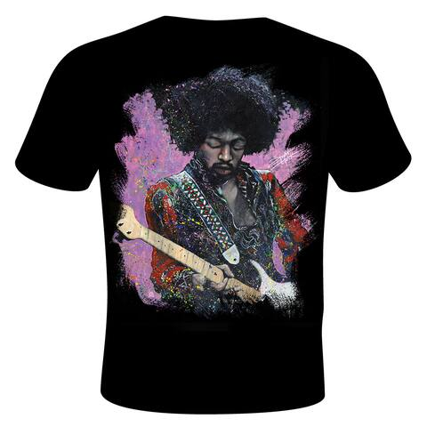 Men's Stephen Fishwick 'Jimi' Jimi Hendrix T-shirt