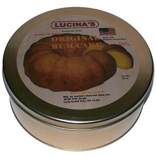 Lucina's Gourmet Jamaican-style Original Rum Cake