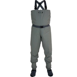 Compass 360 Stillwater Tan Nylon Breathable STFT Chest Wader