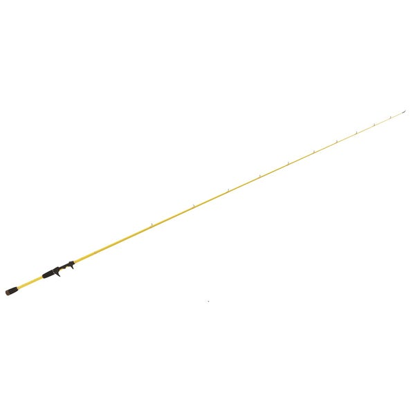 Eagle Claw W&M Skeet Reese Yellow Stainless Steel Tournament Jig Worm - Black/Yellow