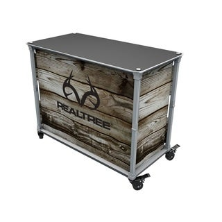 Rainmaker Realtree Aluminum and Wood All-Purpose Utility Cart