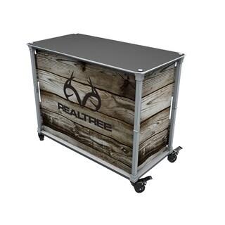 Rainmaker Realtree Aluminum and Wood All-Purpose Utility Cart (As Is Item)