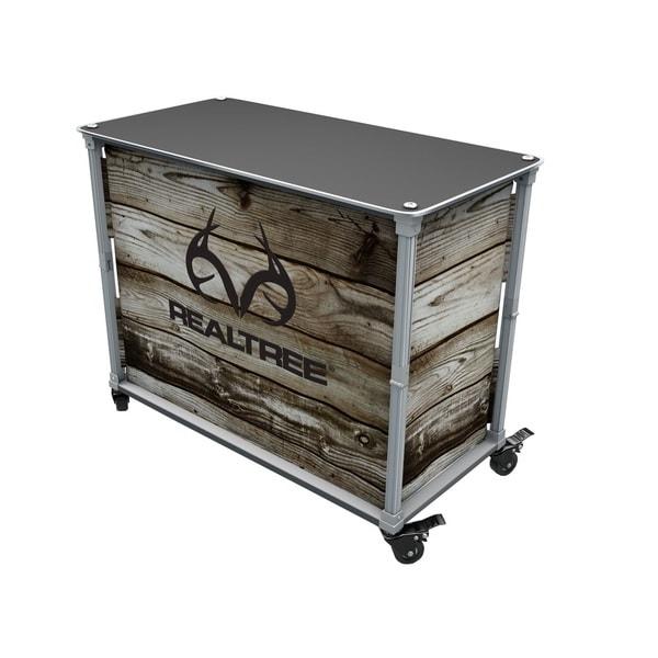 Rainmaker Realtree Aluminum and Wood All-Purpose Utility Cart