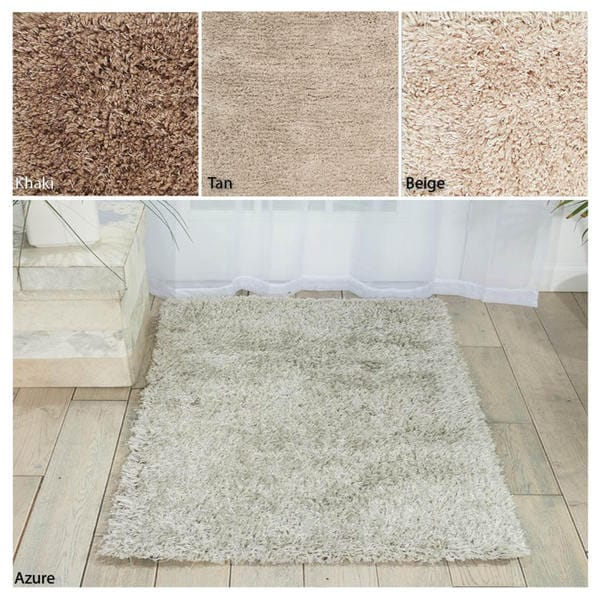 Rug Squared Long Beach Shag Area Rug (1'8 x 3')