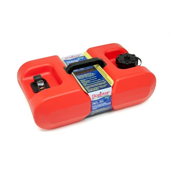 Scepter EPA Red Polyethylene Portable Fuel Tank