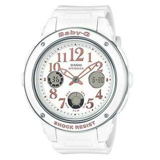 Casio Baby-G BGA150EF-7B Women's White Dial Watch