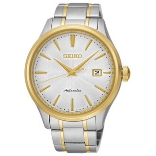 Seiko Men's SRP704 Stainless Steel 23 Jewell Automatic Two Tone Watch