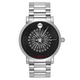 Movado Men's Stainless Steel Red Label 606698 Automatic Watch