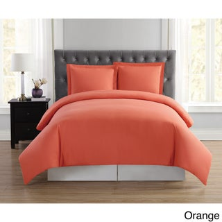Truly Soft Everyday Solid 3-piece Duvet Cover Set