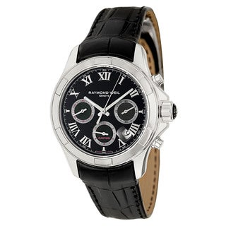 Raymond Weil Men's Stainless Steel Case Leather Alligator Strap Parsifal 7260-STC-00208 Automatic Chronograph Watch