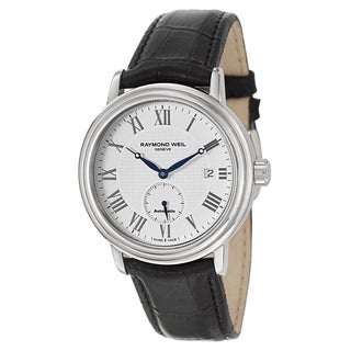 Raymond Weil Men's Stainless Steel Case Leather Strap Maestro 2838-STC-00308 Automatic Watch|https://ak1.ostkcdn.com/images/products/13525882/P20206708.jpg?_ostk_perf_=percv&impolicy=medium