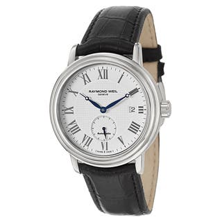Raymond Weil Men's Stainless Steel Case Leather Strap Maestro 2838-STC-00308 Automatic Watch|https://ak1.ostkcdn.com/images/products/13525882/P20206708.jpg?impolicy=medium