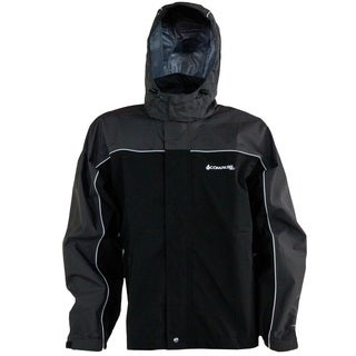 Compass 360 RoadForce Black and Grey Polyester Reflective Riding Jacket