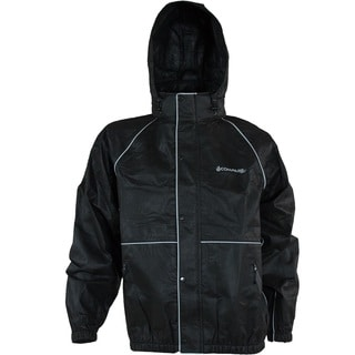 Compass 360 RoadTek Black Reflective Riding Jacket