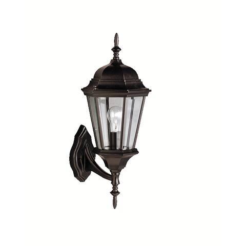 Gracewood Hollow Hannah 1-light Tannery Bronze Outdoor Wall Lantern