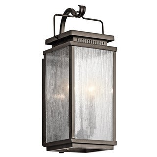 Kichler Lighting Manningham Collection 2-light Olde Bronze Outdoor Wall Sconce
