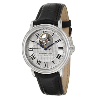 Raymond Weil Men's Stainless Steel Case Leather Strap Maestro 2827-STC-00659 Automatic Watch