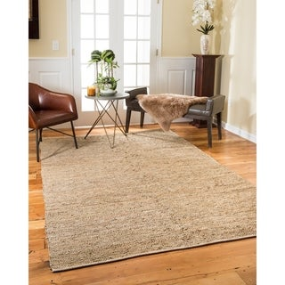 Natural Area Rugs Hand Loomed Syliva Leather Rug (6' x 9')