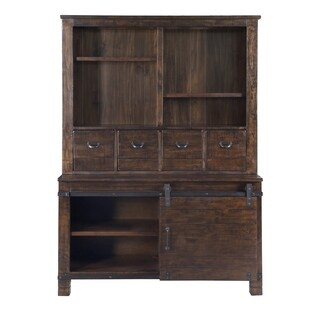 Pine Hill Storage Cabinet in Rustic Pine
