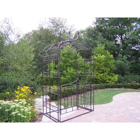 London Gothic Arbor with Gate