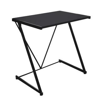 Urban Shop Black Metal Z-shaped Student Writing Desk