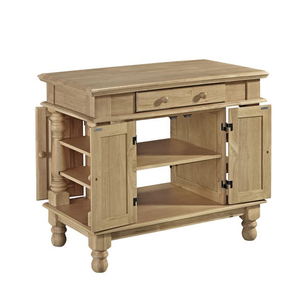 Americana Natural Kitchen Island by Home Styles