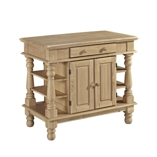 Home Styles Americana Natural Kitchen Island