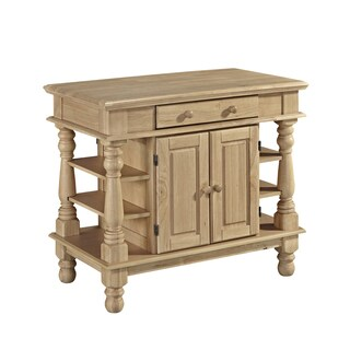 Gracewood Hollow Benjamin Natural Kitchen Island