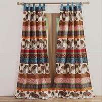 Barefoot Bungalow Kandula Desert 4-piece Window Curtain Panel Pair Set