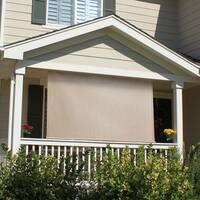 Keystone Fabrics Outdoor Long Loop Cord-operated Sun Shade with (10'x6')