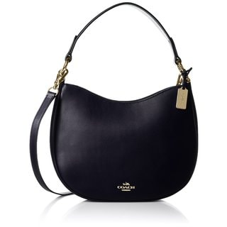 Coach Nomad Navy Glovetanned Leather Shoulder Handbag