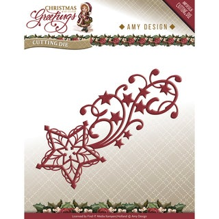 Find It Trading Amy Design Christmas Greetings Die-Shooting Star