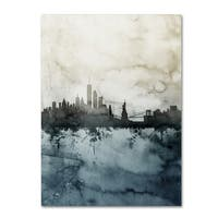 Michael Tompsett 'New York Skyline Tall' Canvas Art