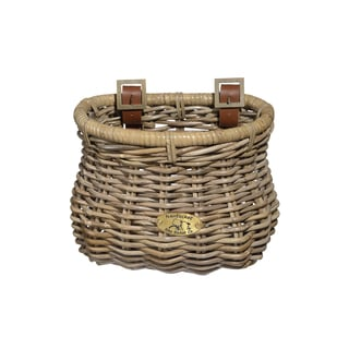 Nantucket Bicycle Basket Co. Unisex Tuckernuck Child Classic Rattan Basket
